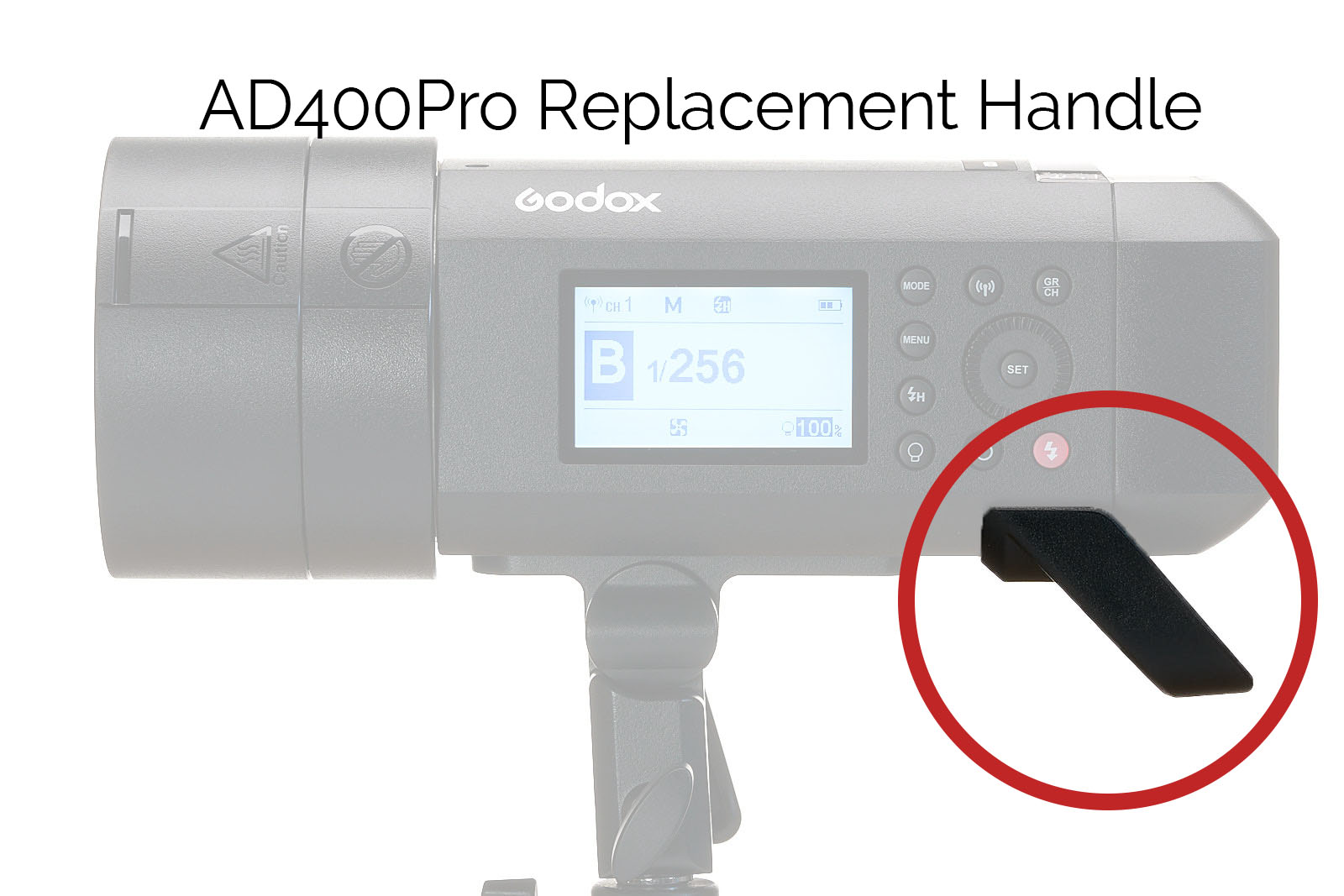 AD400Pro Replacement Handle