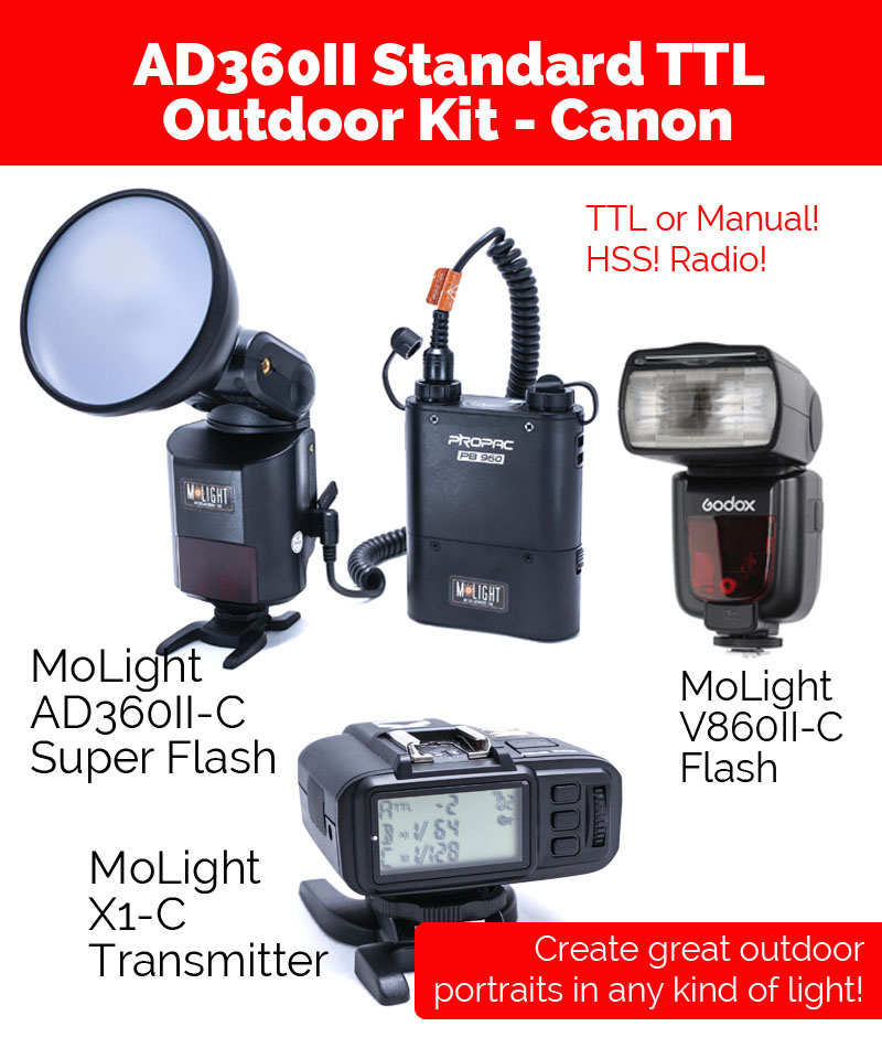 Standard MoLight Canon TTL Kit