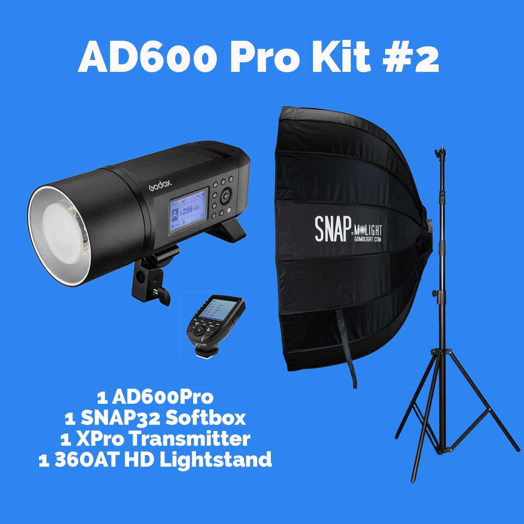 AD600Pro Kit #2 with SNAP32