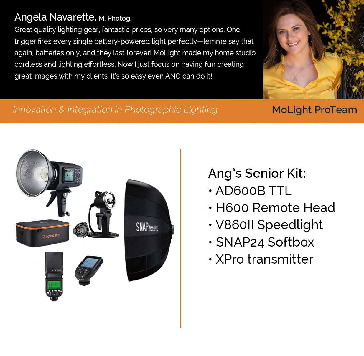 Pro Kit: Angela Navarette Senior Location
