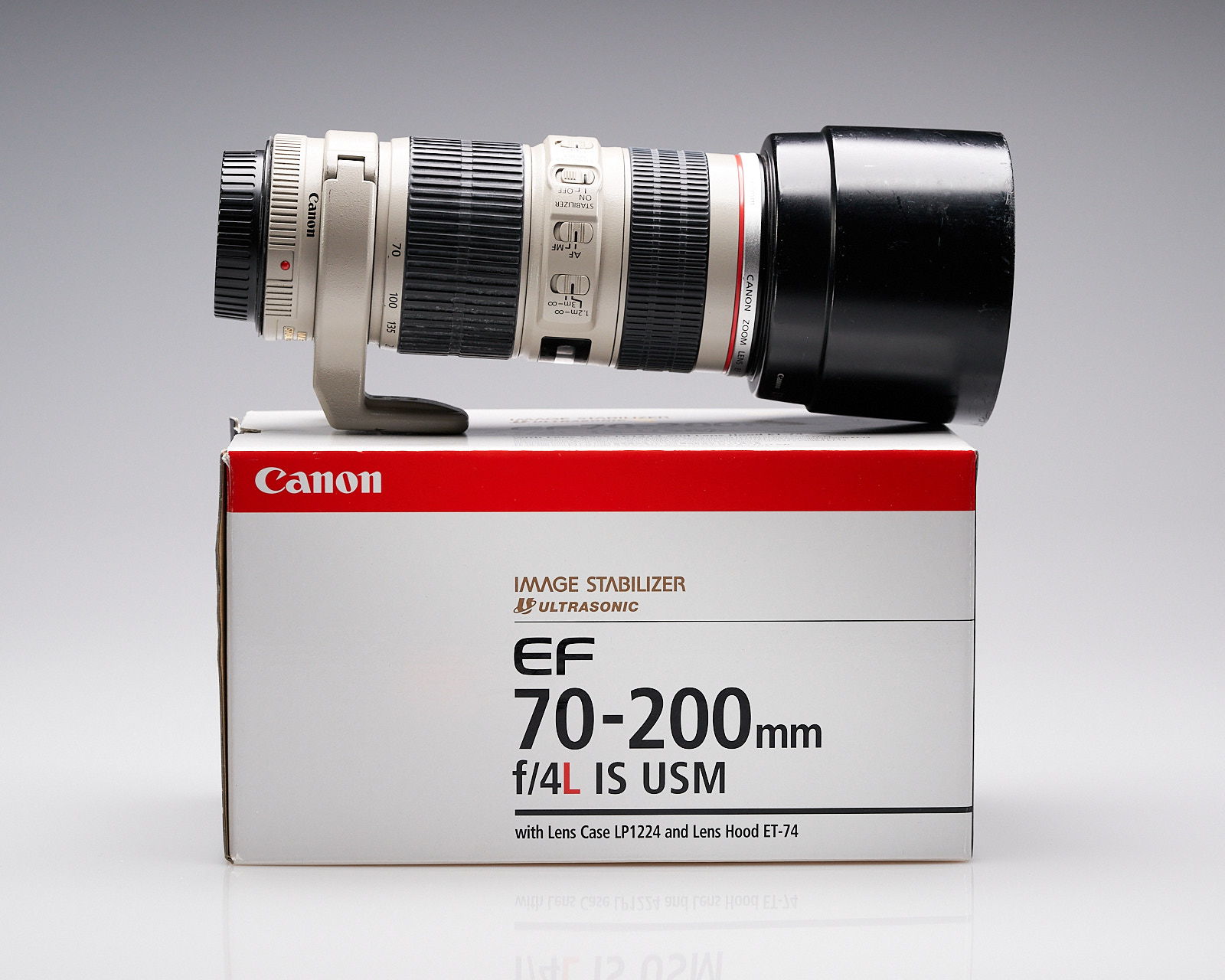 Canon 70-200mm IS f4L Lens