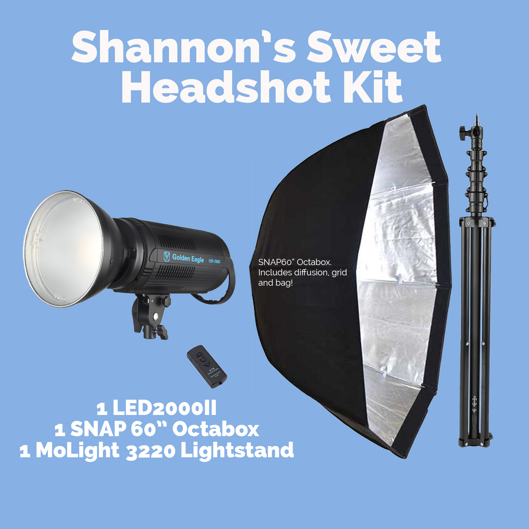 Shannon's Sweet Headshot Kit