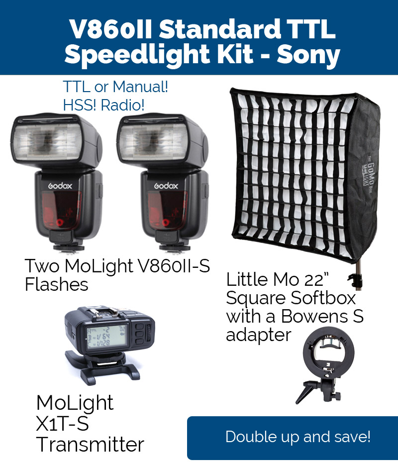 Standard Speedlight Kit - Sony