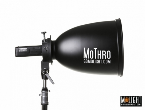 MoThro Long Throw SOFT WHITE Reflector