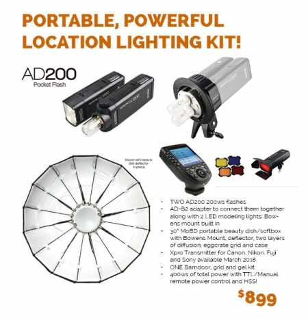 AD200 AD-B2 Location Kit