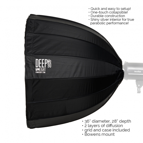 DeepMo 90 Deep Parabolic Softbox