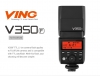 V350 Mini Lithium Ion Speedlight FUJI