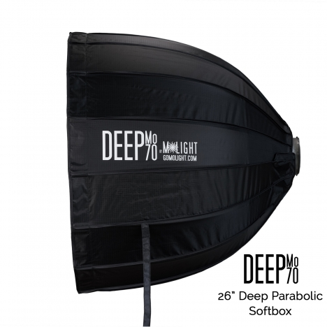 "DeepMo 70 - 26"" Deep Parabolic Softbox"