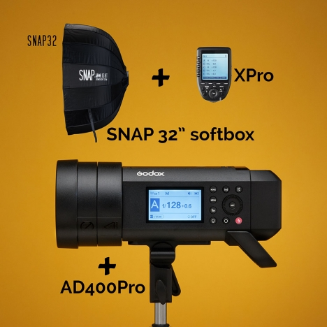 AD400Pro Kit with SNAP 32