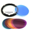 Godox V-11C Color Effects Gel Set for Round Flash Heads