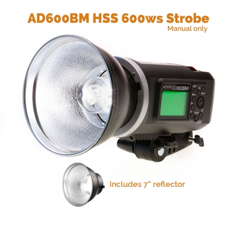 MoLight AD600BM - 600ws HSS Mega Flash!