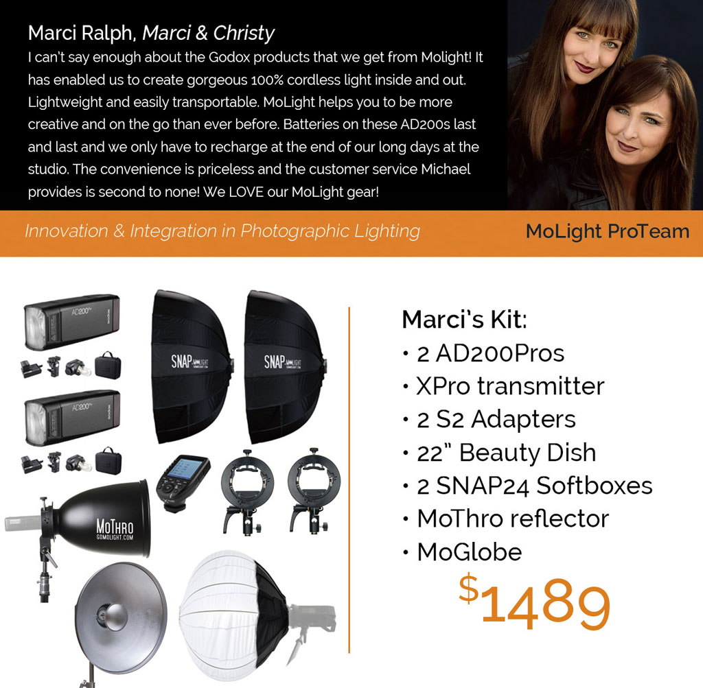 Pro Kit: Marci and Christy
