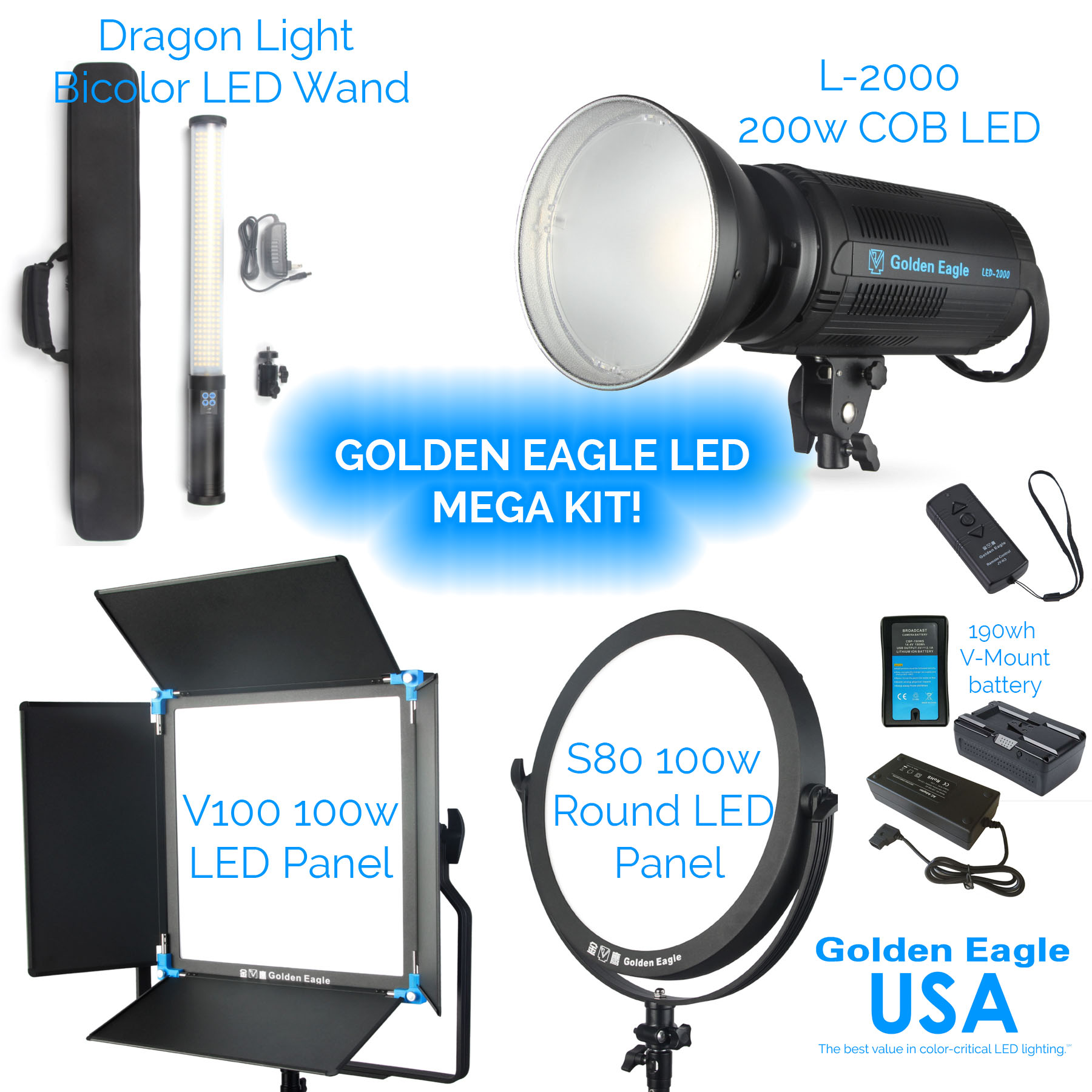Golden Eagle LED Mega Kit
