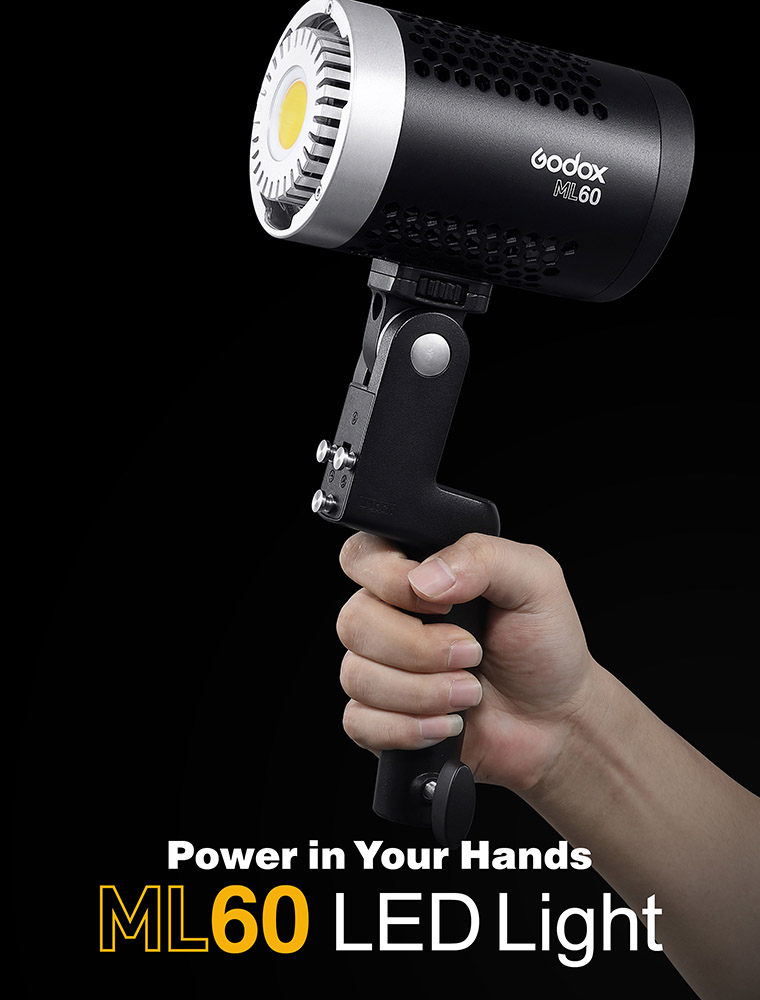 Godox ML60 60w Portable LED