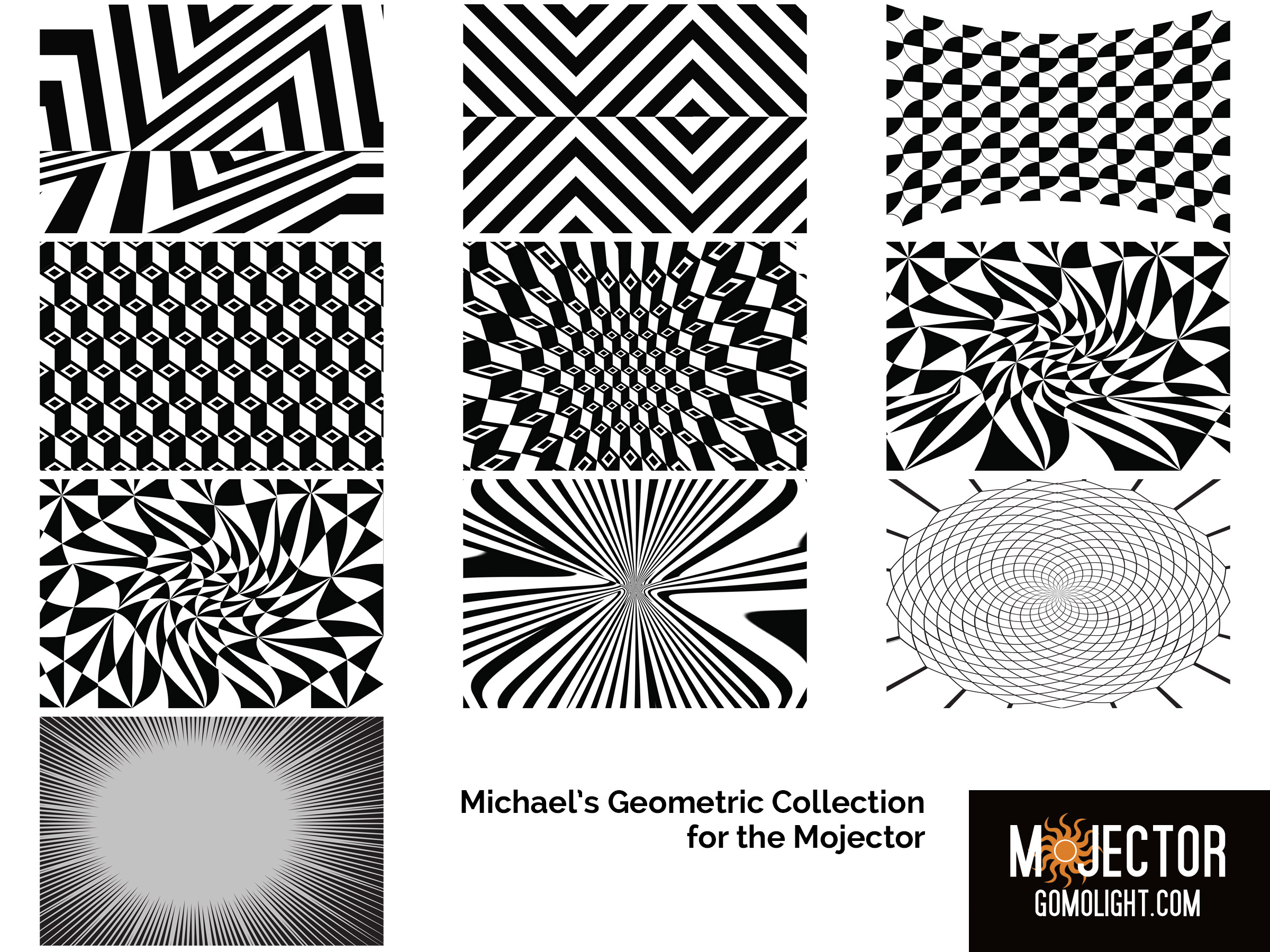 Mojector Michael's Geometric Collection