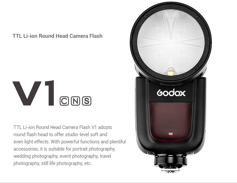Godox V1 Speedlight for Fuji